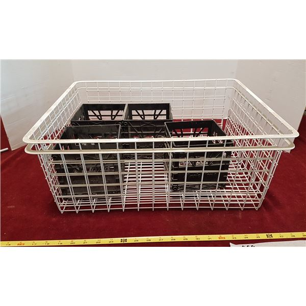 2 Wire Baskets & Organizers