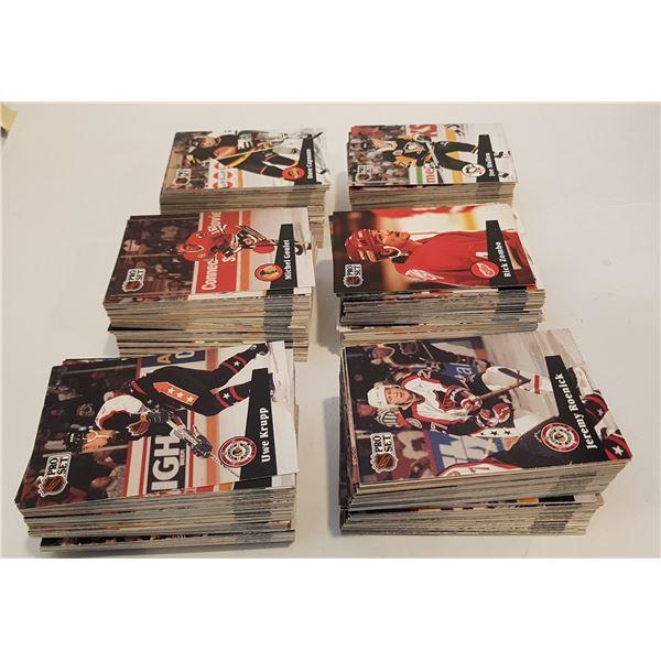 700+ 91'-92' ProSet NHL Hockey Cards – Unsorted