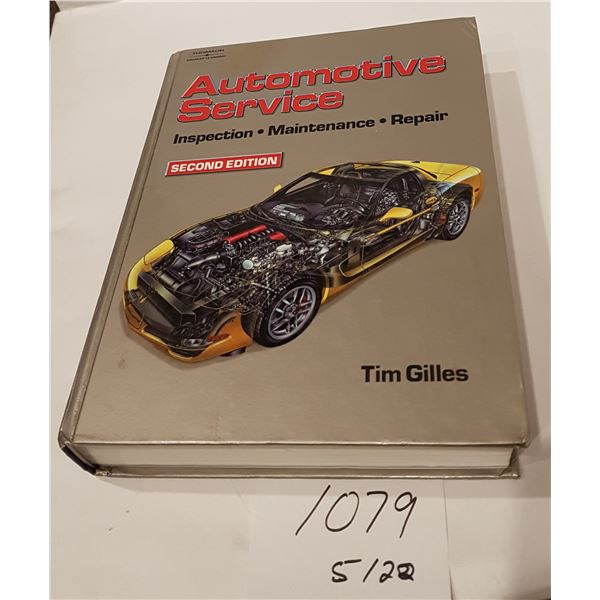 Thompson Delmare Learning AUTOMOTIVE SERVICES  MANUAL 2nd Edition Text Book by Tom Giles