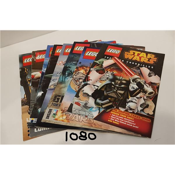 LEGO Club Magazines X10 (6 Large and 4 Small)