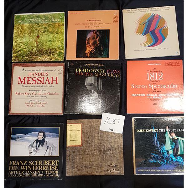 14X Classical Record/Vinyl Bundle 20+ Records