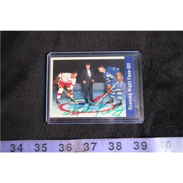 #1113 - Parkhurst Red Kelly Autographed Card