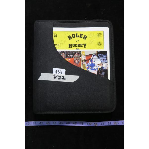 #1133 - Card Binder #4 >> 315 Chicago Black Hawks Cards