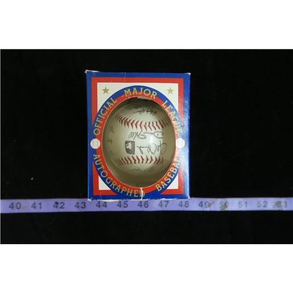 #1146 - 1992 Toronto Blue Jays Fascimile Autographed Baseball in Case with Original Box