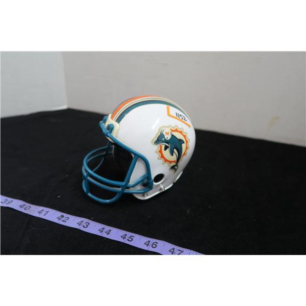 #1152 - Miami Dolphins Mini Helmet Piggy Bank