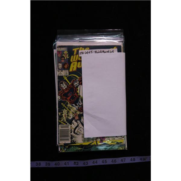 #1158 - Lot of 5 Comics Mixed Marvel Lot