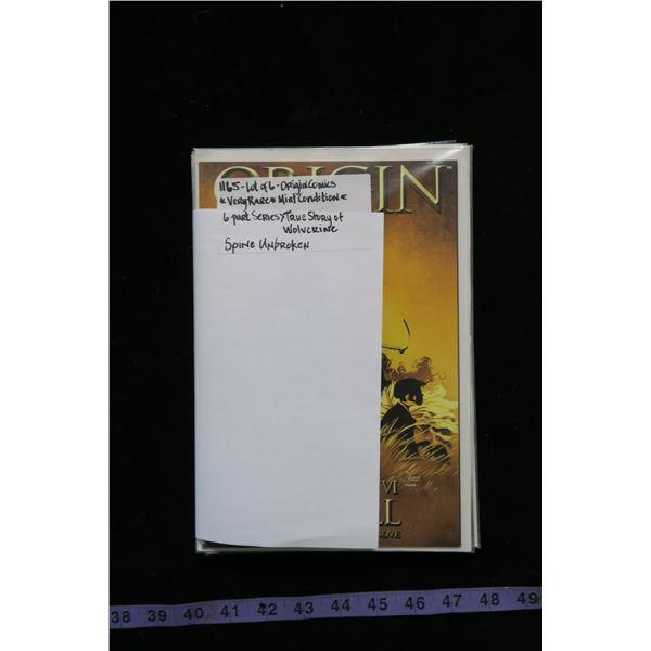 #1165 - Origin - The True Story of Wolverine - 6 Part Series - ALL MINT Spine Unbroken