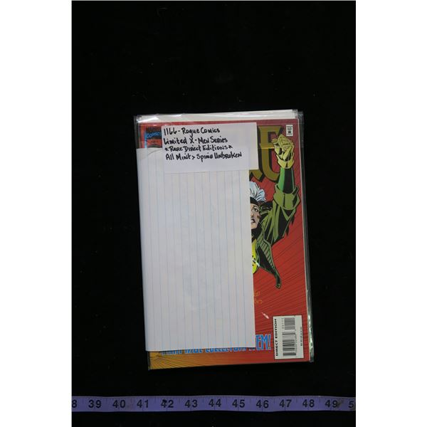 #1166 - Rogue - Limited X-Men Series Rare Direct Edition - All Mint Spine Unbroken