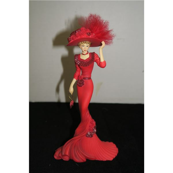 #1209 - Thomas Kinkade - Red at heart Figurine