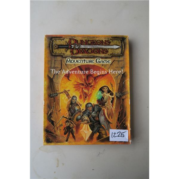 #1225 - Dungeon's & Dragons Adventure Game Box Set - Complete and unused