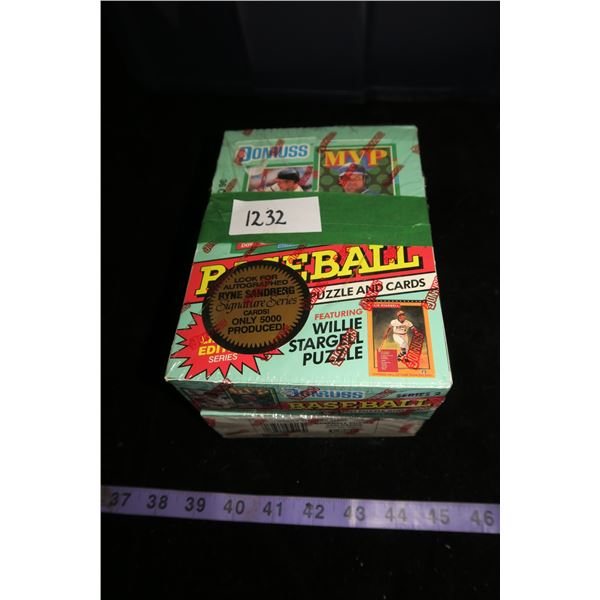 #1232 - 2 Boxes 1991 Donruss Baseball