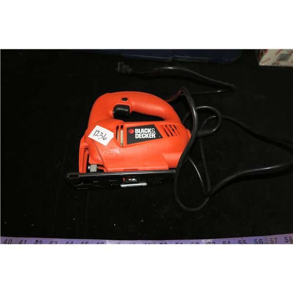 #1236 - New Black and Decker Jig Saw