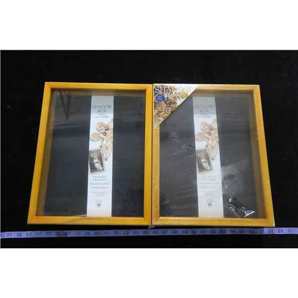 #1252 - 2 Shadow Boxes from Michaels Unused