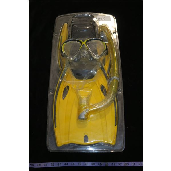 #1255 - Body Glove Snorkelling Kit - Never Been Used