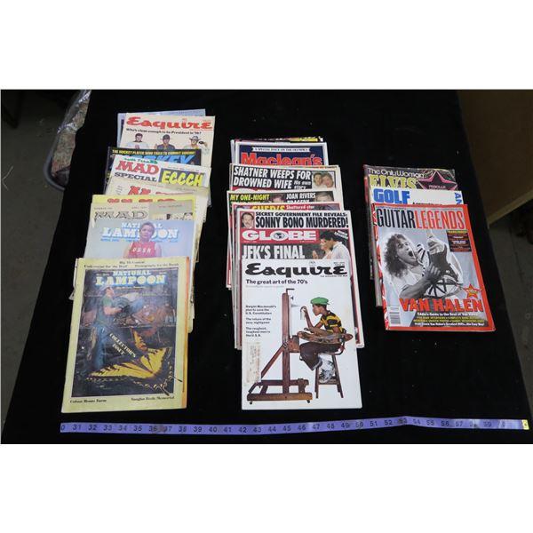 Lot of Vintage Magazines, 70's +