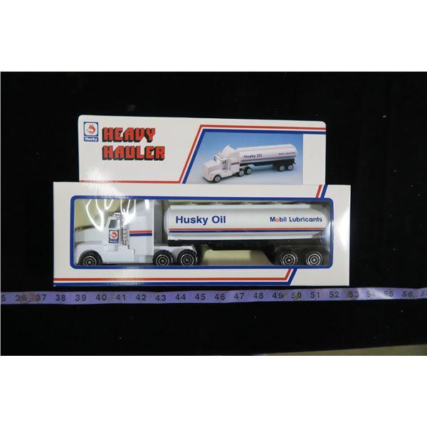 Husky Oil Toy Semi (NOS)