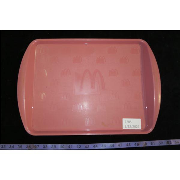 vintage mcdonals tray