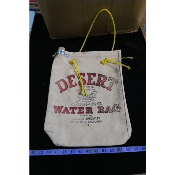 N.O.S desert canvas water bag