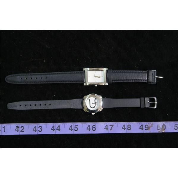 2 Wrist watches, 1 Husky themed