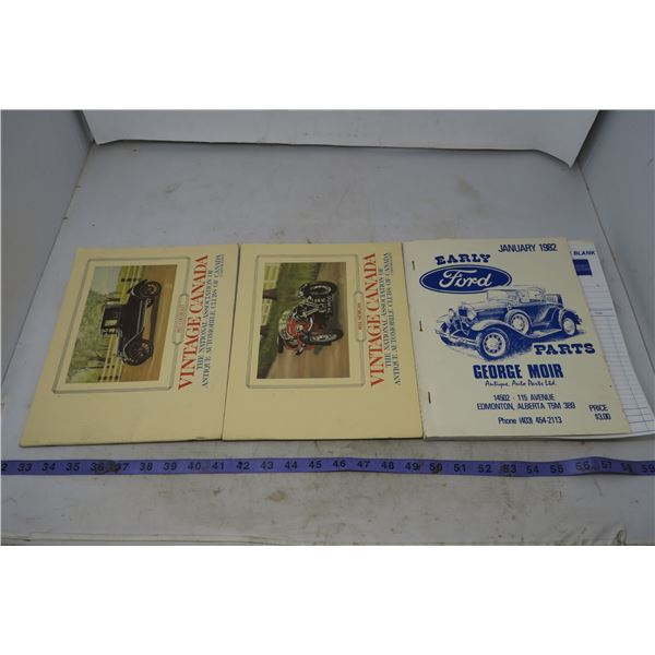 Vintage Automotive Themed Books
