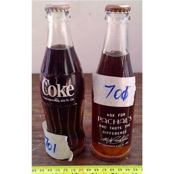 1 Coke Bottle & 1 Rachel's Beverage Yorkton - FULL