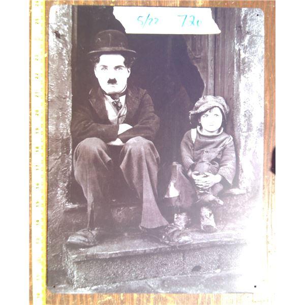 1 Tin Sign - Chaplin