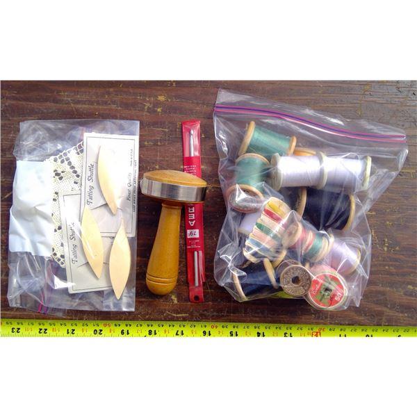 Sock Darning Tool & Misc