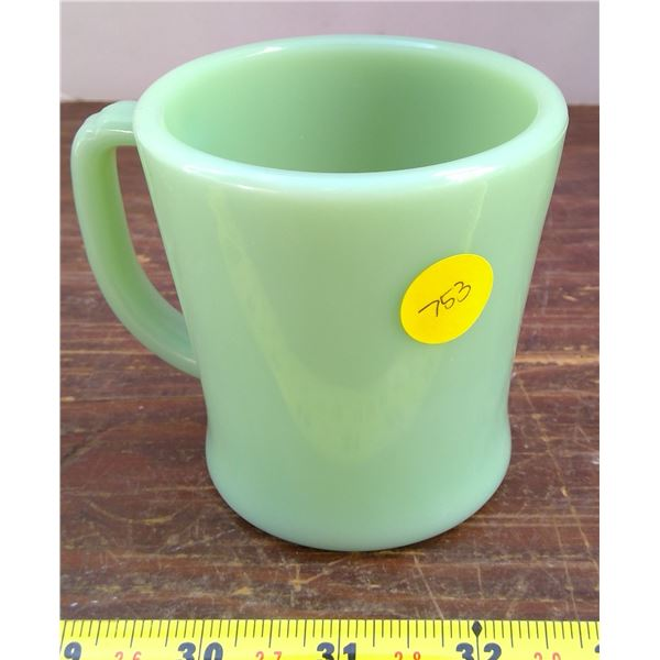 1 Green Fire King Mug