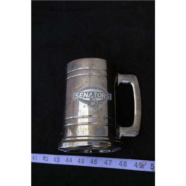 #1275 - Ottawa Senators Collector Beer Mug
