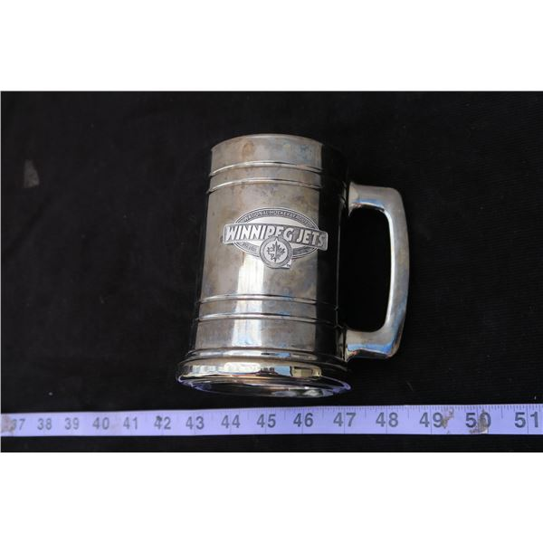 #1276 - Winnipeg Jets Collector Beer Mug