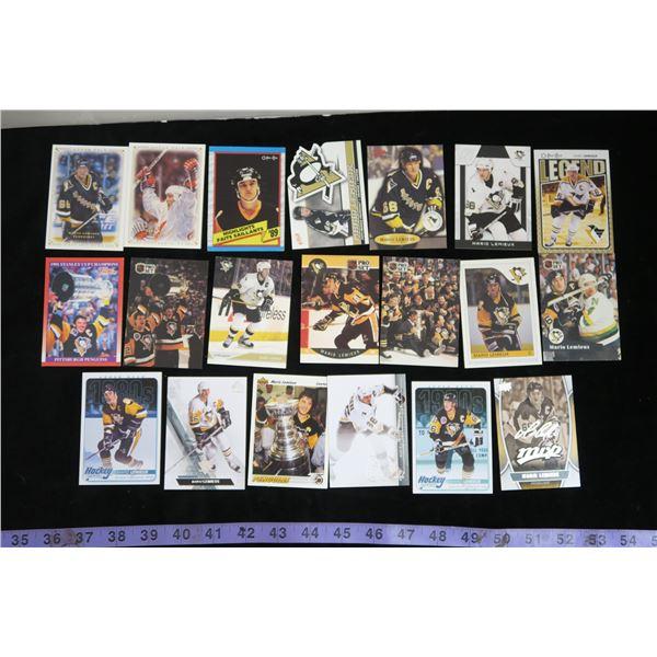 #1293 - 20 Mario Lemieux Cards