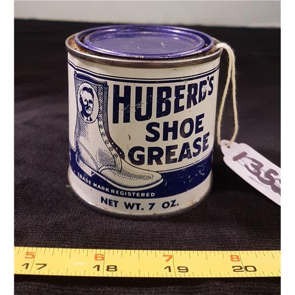 Huberds Shoe Grease Tin