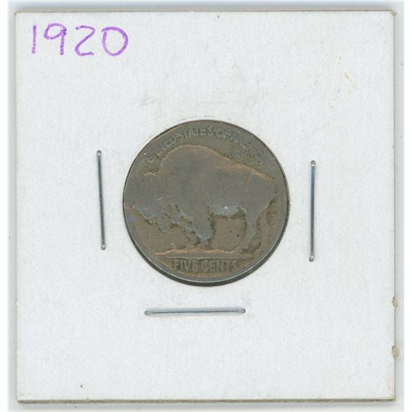 1920 United States 5 Cent Coin