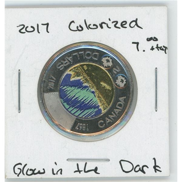 2017 Canadian 2 Dollar Coin