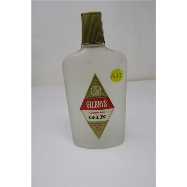 Gilbey's London Dry Gin 12oz Sealed