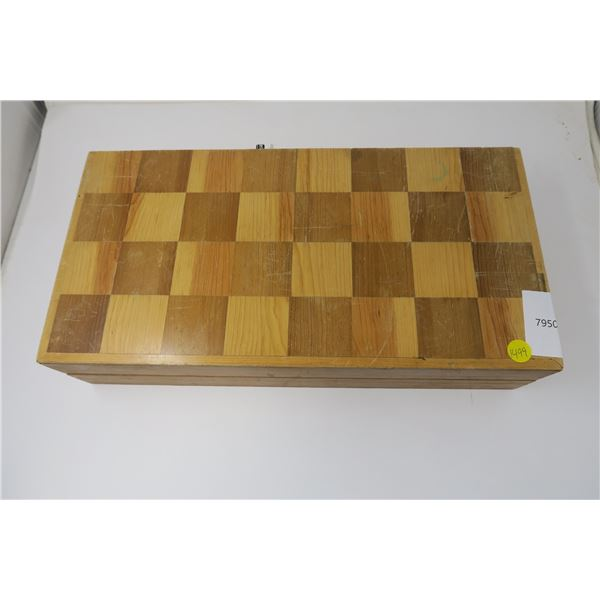 Chess Set - Handcarved Wood