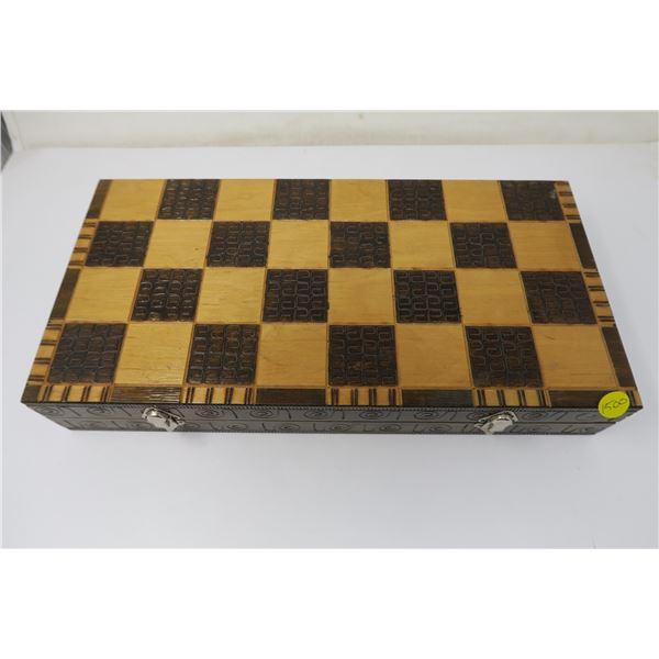 Chess Set - Polish Made Handcarved Wood