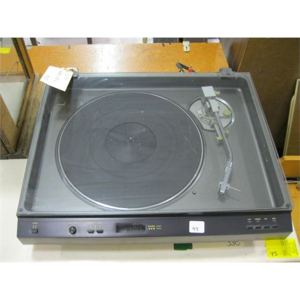 OPTONICA DIRECT DRIVE FULL AUTOMATIC TURN TABLE. MODEL RP4705