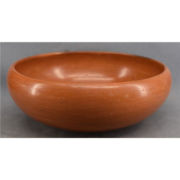 HOPI INDIAN POTTERY BOWL (MYRTLE YOUNG)