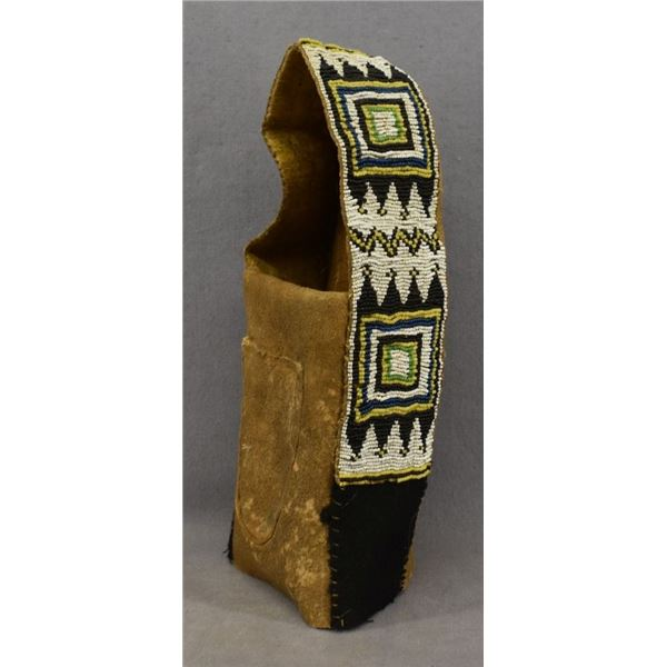 PLAINS INDIAN DOLL CRADLE COVER