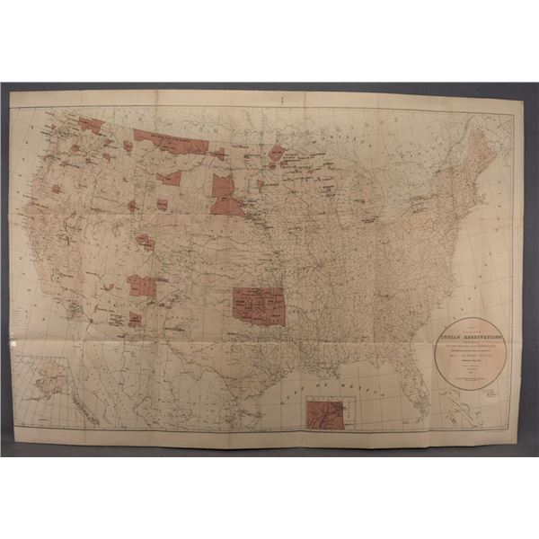 INDIAN RESERVATION MAP