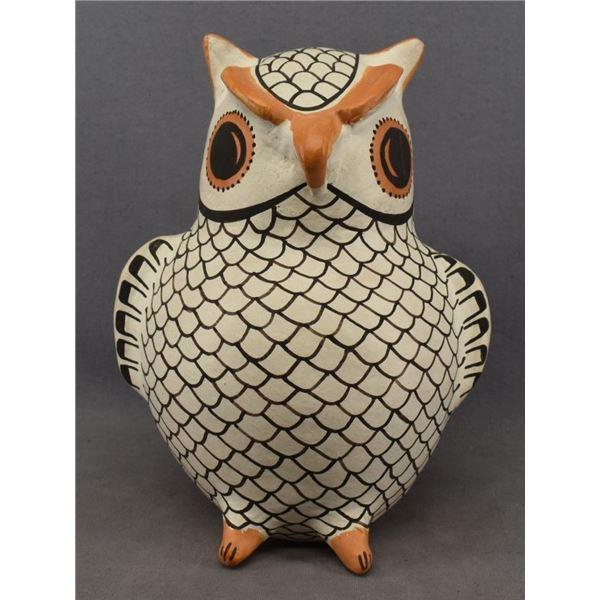 ACOMA INDIAN POTTERY OWL ( EVA HISTIA)