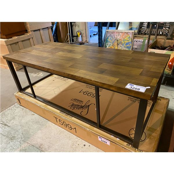 """NEW OUT OF BOX COFFEE TABLE 19 X 26 X 60"""""""