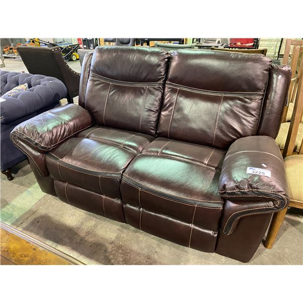 2 PERSON ELECTRIC RECLINING SOFA
