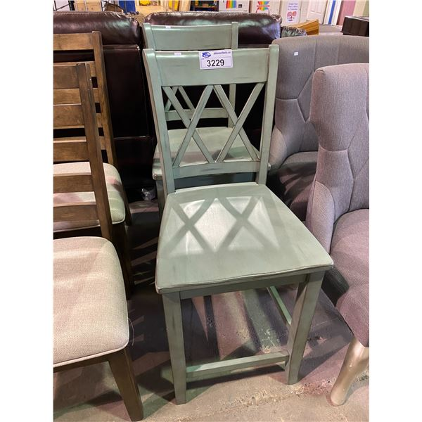 """2 CHAIRS 24.5"""" TALL"""