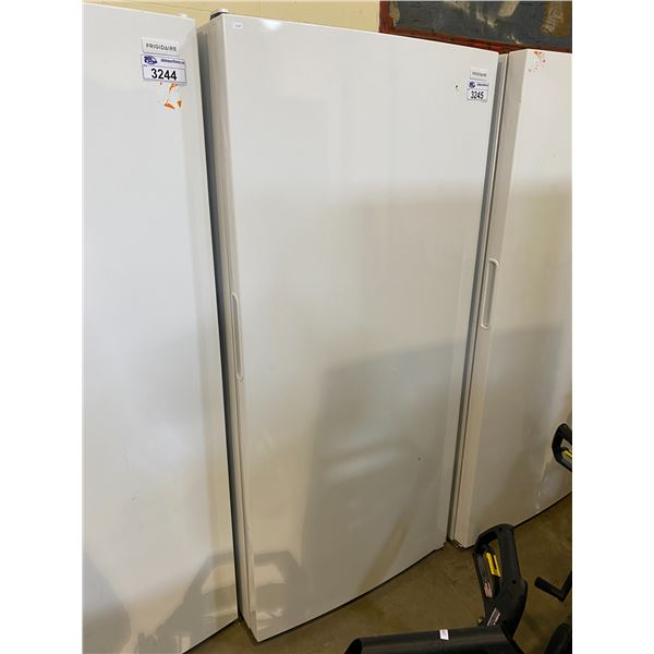 FRIGIDAIRE STANDING FREEZER MODEL FFFH20F3WW0 VISIBLE DAMAGE