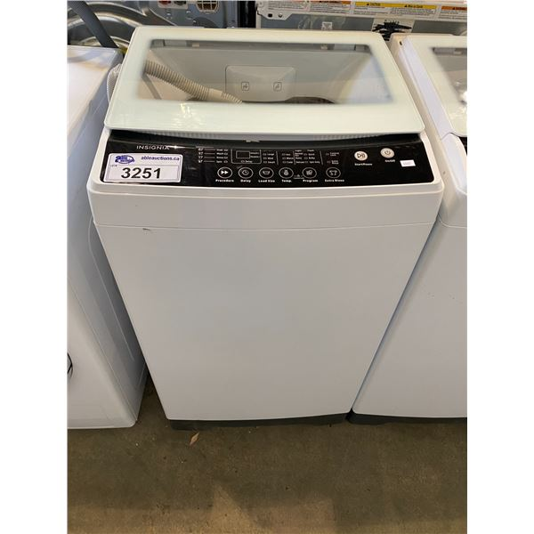 INSIGNIA WASHING MACHINE