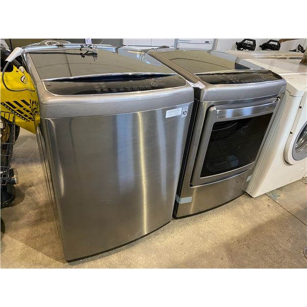 LG WASHER + DRYER