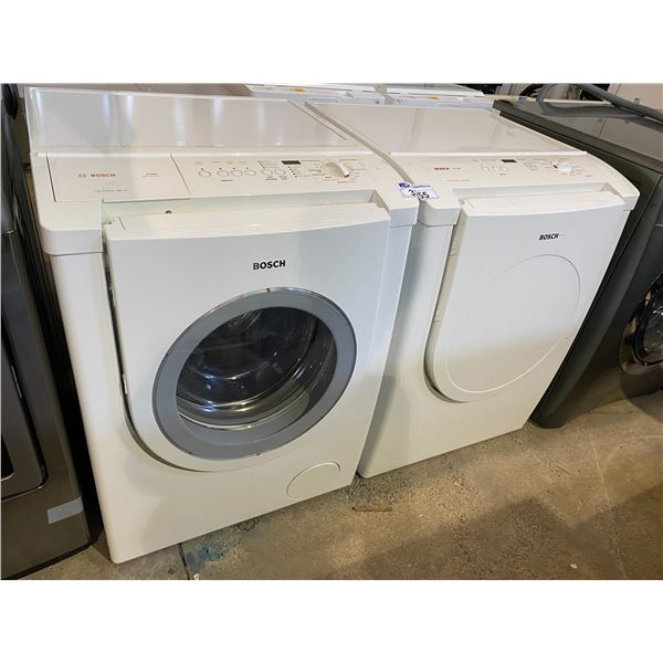 BOSCH NEXXT SERIES WASHER + DRYER