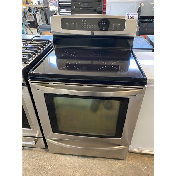 KENMORE INDUCTION STOVE WITH CONVECTION OVEN MISSING OVEN TRAY